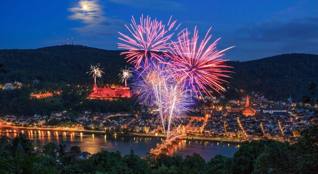 Image result for Heidelberg Feuerwerk